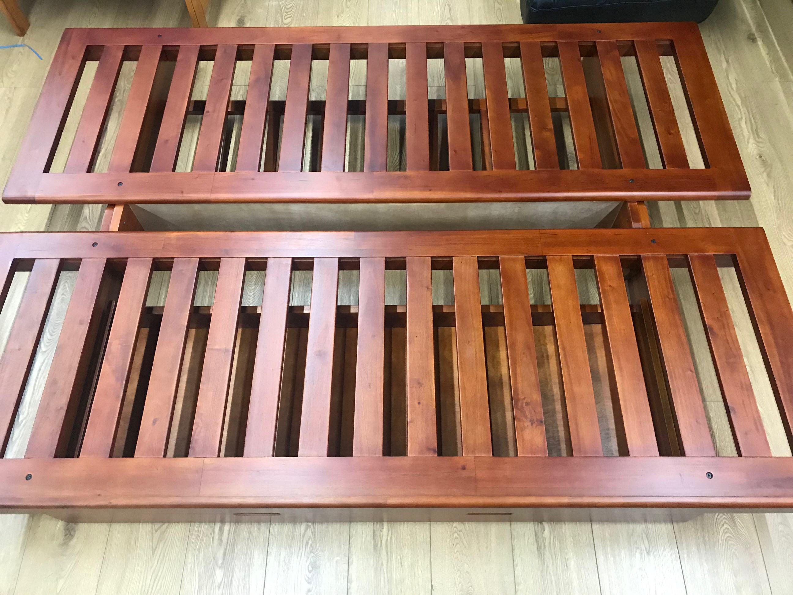 Okinawa Bi Fold Futon Frame W Drawer By