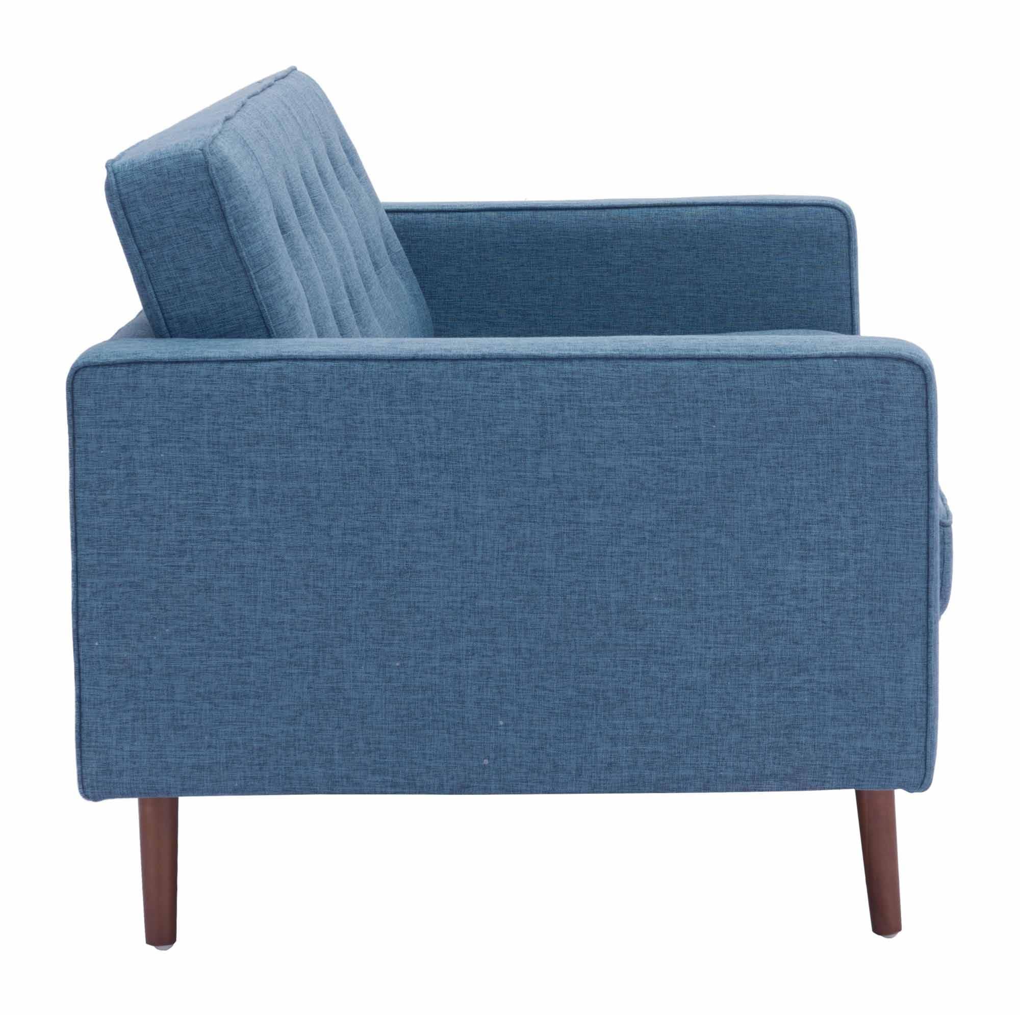 Puget Sofa Blue By Zuo Modern (Zuo Modern)