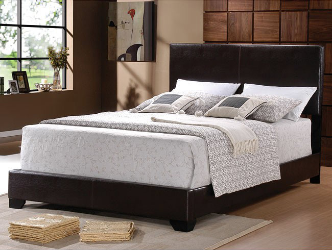 Twin Upholstered Bed With Mattress Set Free Delivery In Nyc