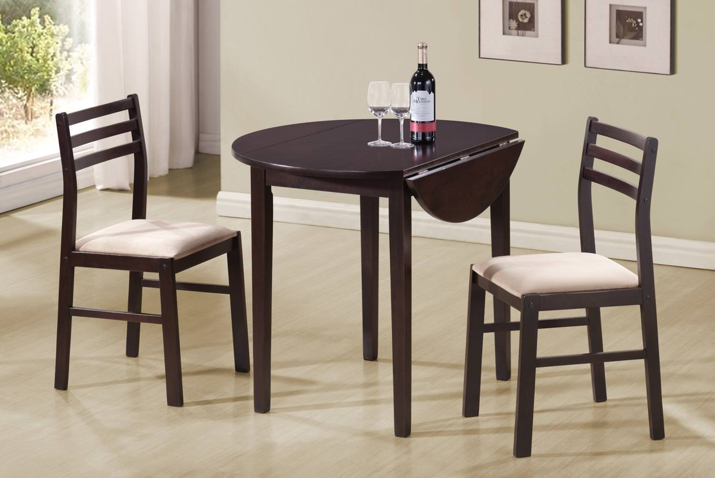 130005 3 pcs Dining Set by Coaster (Coaster Fine Furniture) & 130005 3 pcs Dining Set by Coaster