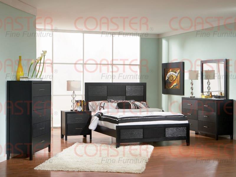 201653 6 Drawer Dresser Black Finish By Coaster Fine Furniture