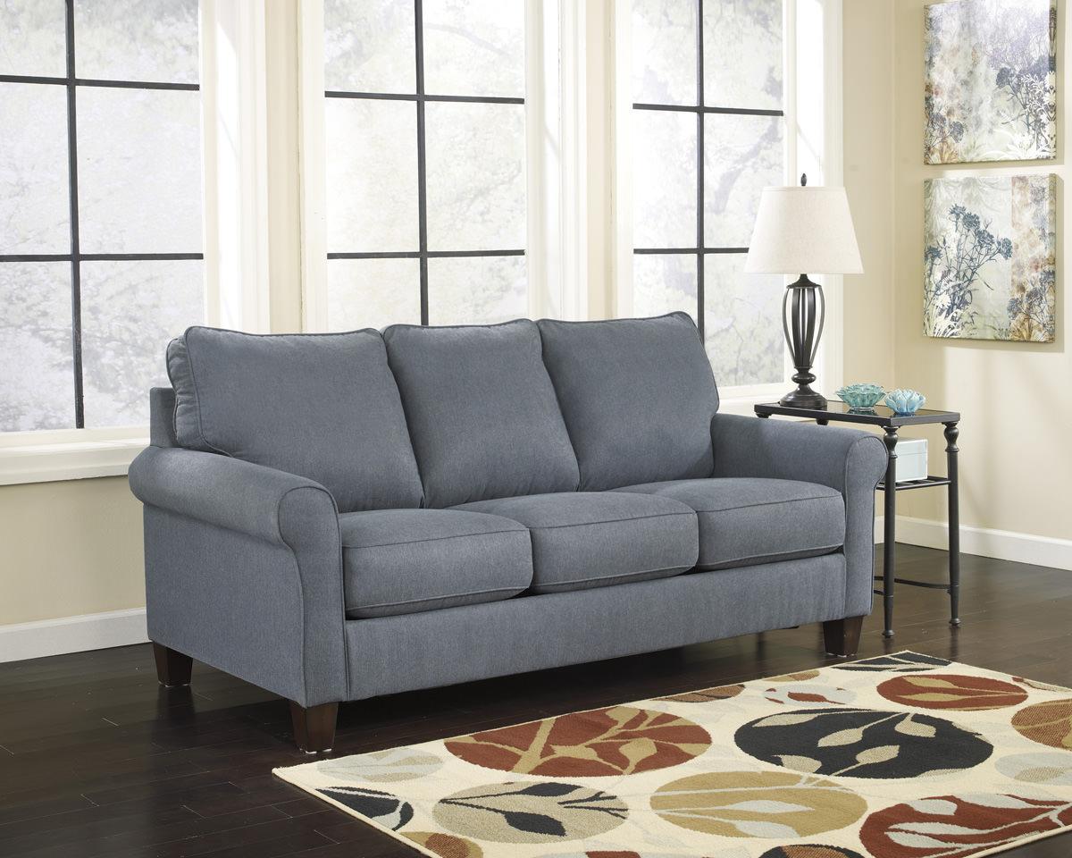 Zeth Denim Twin Sofa Sleeper Signature Design By Ashley Furniture