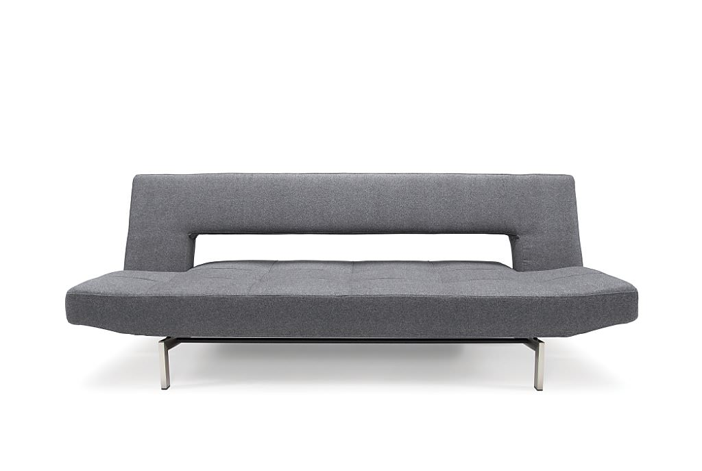Wing Deluxe Sofa Bed Dark Grey Ifelt By Innovation