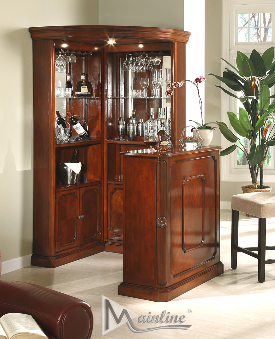 Yorkshire pcs corner wine cabinet by mainline