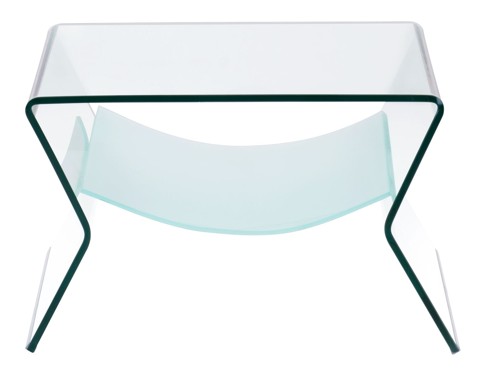 Dining Room Table Cover Protectors Yoga Side Table Clear Amp Frosted By Zuo Modern