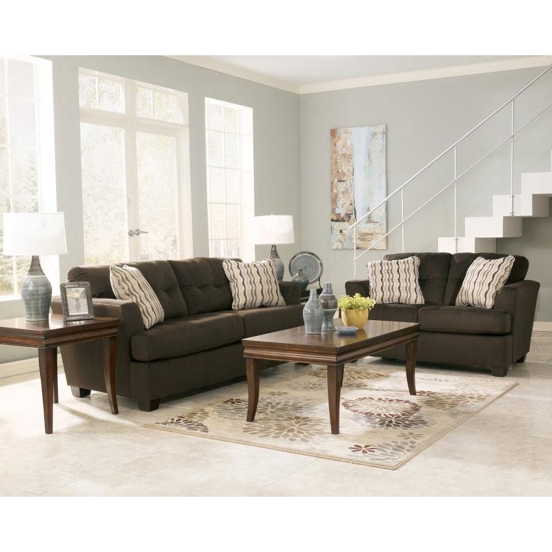 Dallas Chocolate Sofa Signature Design by Ashley Furniture
