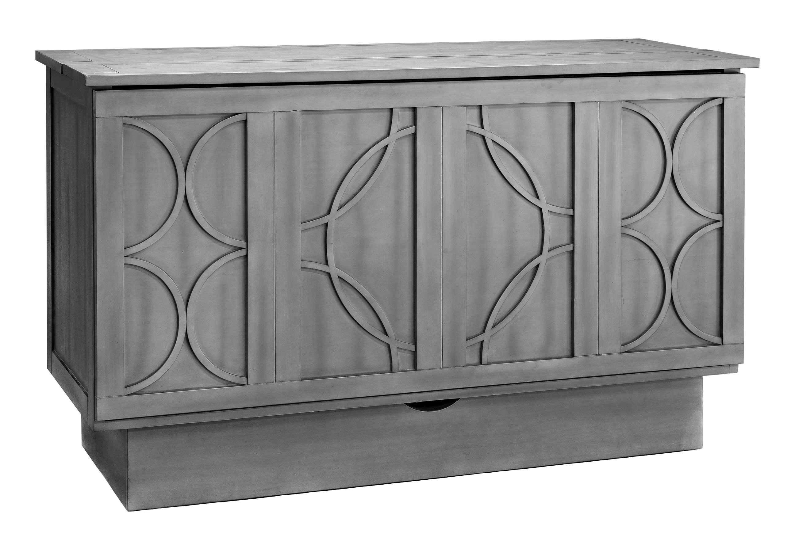 Brussels Queen Murphy Cabinet Bed Charcoal By Arason Furniture (Arason)