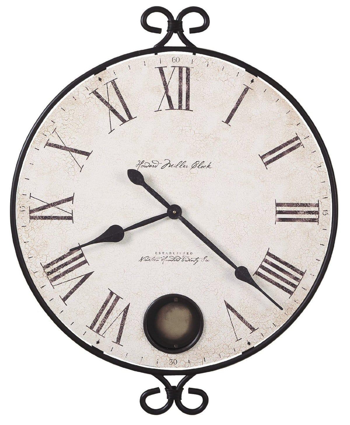625 310 Magdalen Wall Clock By Howard Miller