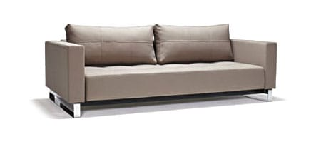 Cassius deluxe excess sofa bed queen size classic gray Queen size sofa bed