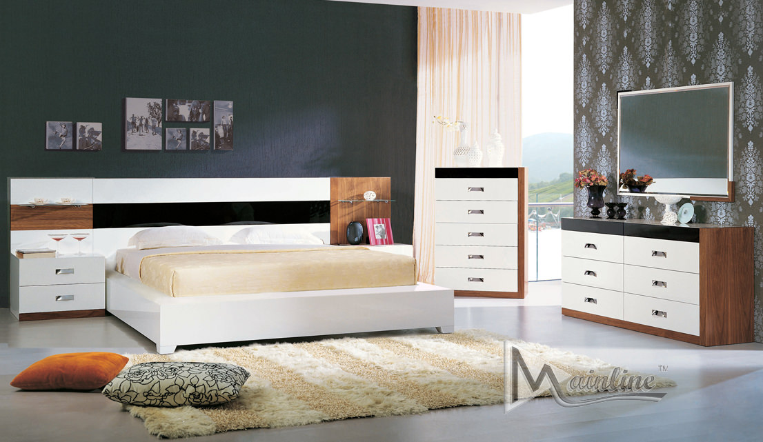 Terra Nova Bedroom Set By Mainline (Mainline Furniture)
