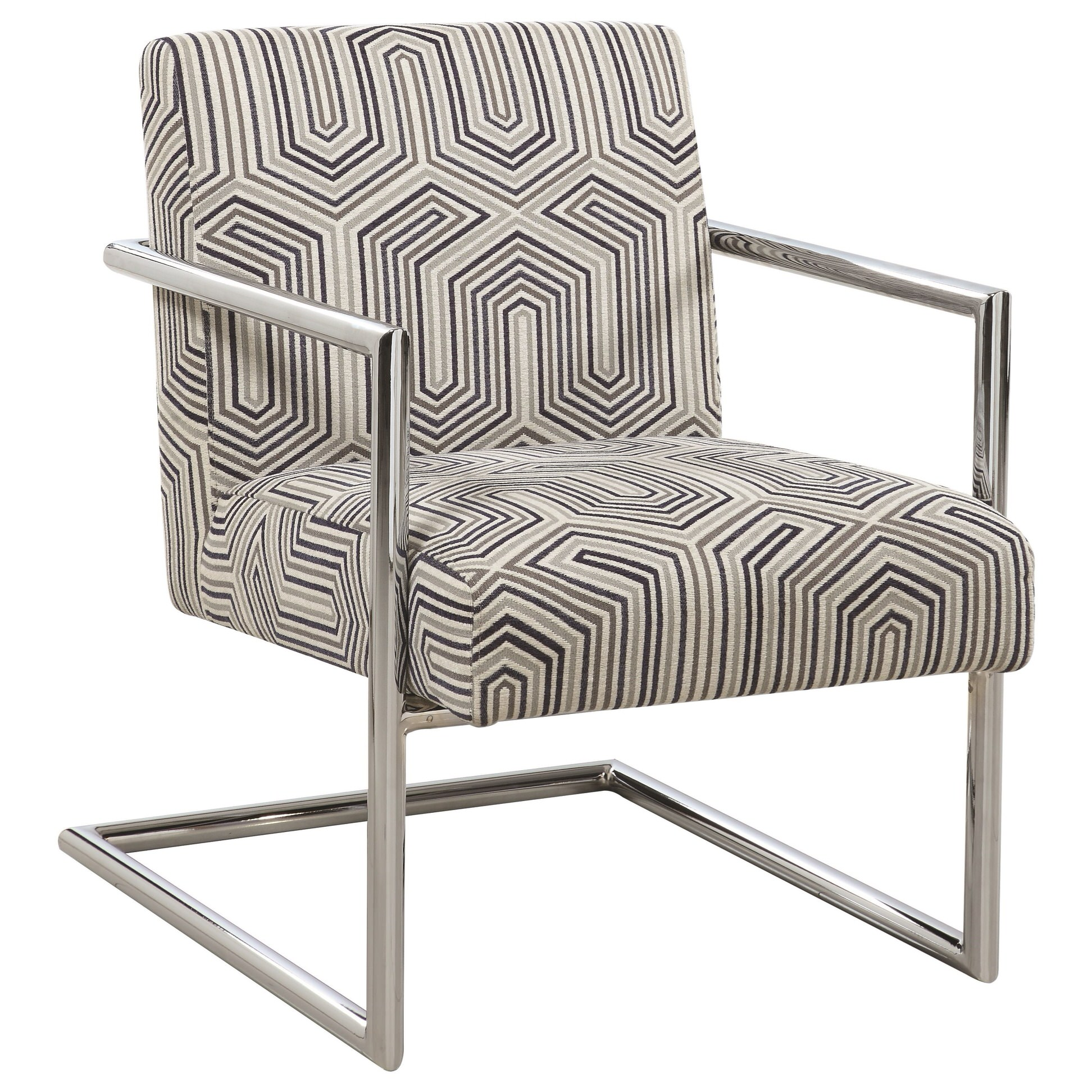 Brilliant 903402 Gray Blue Accent Chair By Scott Living Andrewgaddart Wooden Chair Designs For Living Room Andrewgaddartcom