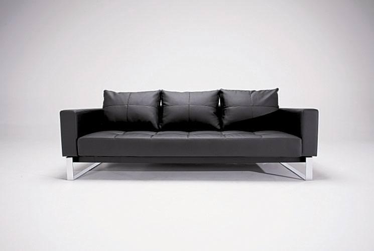 Cassius Full Leather Sofa Bed