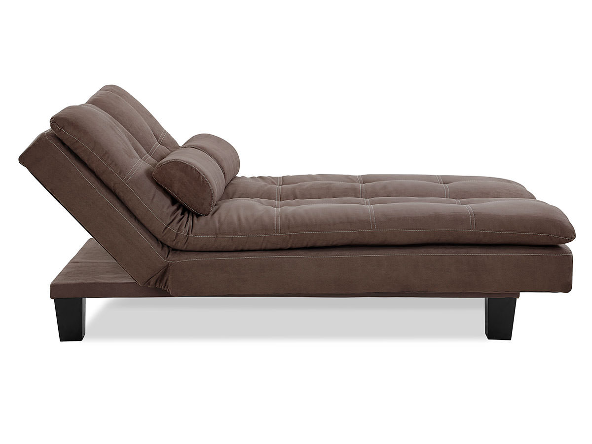 Adelaide Convertible Sofa Java By Serta Lifestyle Solutions
