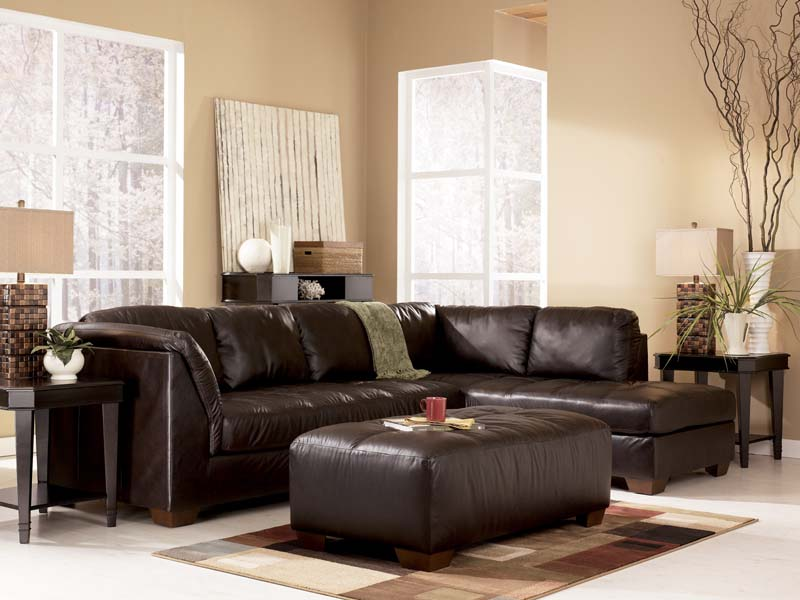 Harrington Chocolate Sectional Sofa Signature Design By Ashley Furniture  (Signature Design By Ashley)