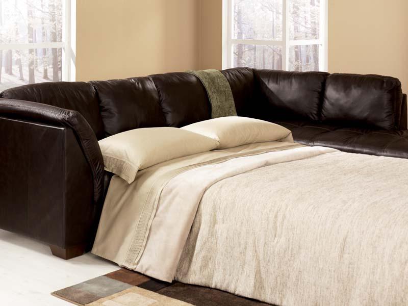 Harrington Chocolate Sectional Sofa Signature Design by ...