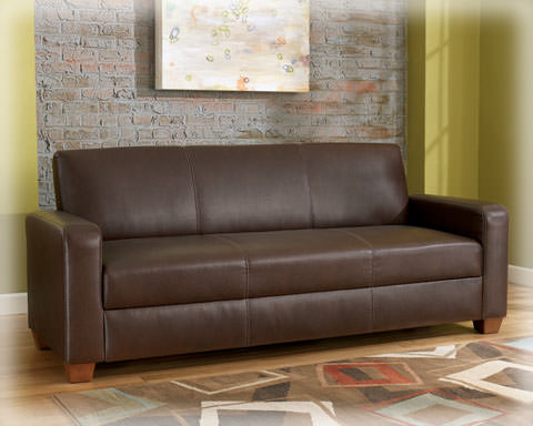 Mia flip flap convertible sofa bed signature design by for Sofa bed name