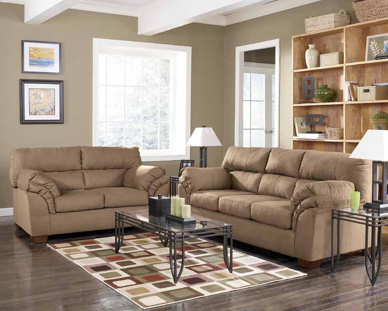 Jupiter Mocha Sofa Set Signature Design By Ashley Furniture (Signature  Design By Ashley)