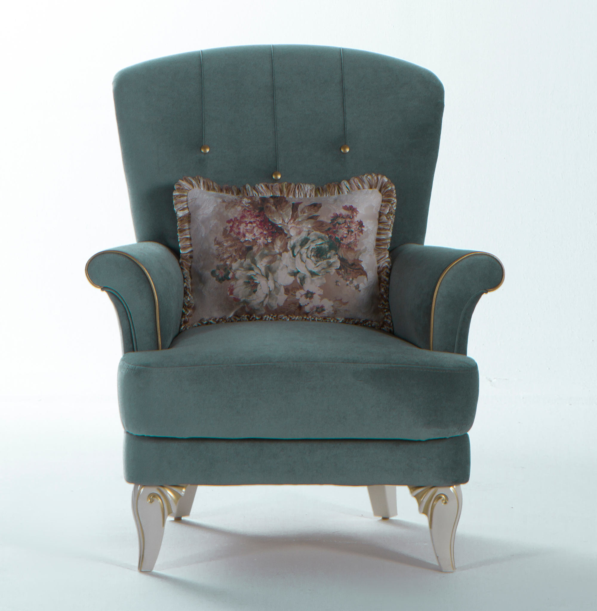 Awesome Astoria Caprice Seafoam Green Chair By Istikbal Furniture Interior Design Ideas Ghosoteloinfo