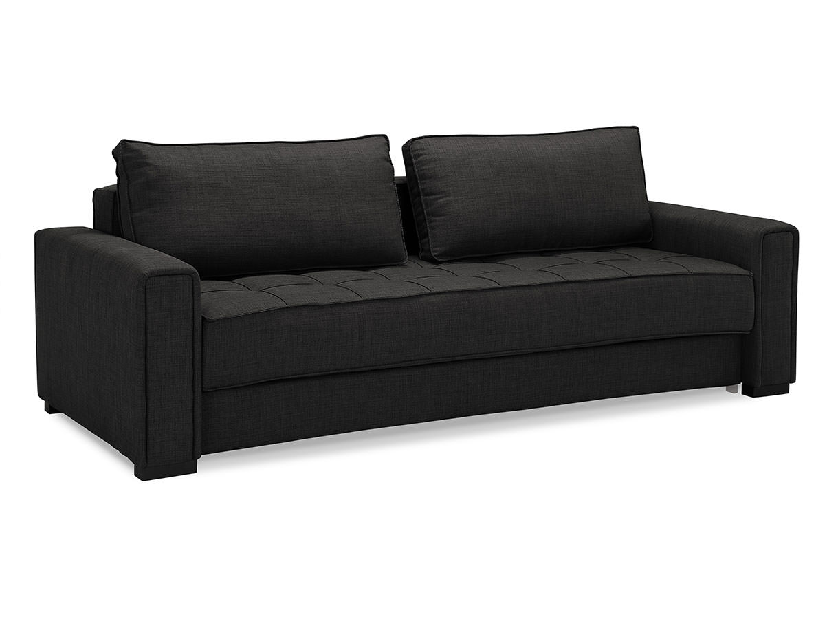 ascott convertible sofa dark grey by serta lifestyle. Black Bedroom Furniture Sets. Home Design Ideas