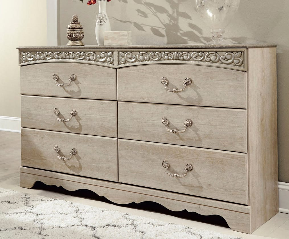 Catalina Antique White Dresser By Ashley Furniture (Signature Design By  Ashley)