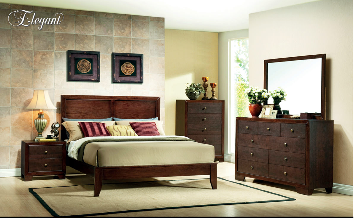 Bedroom furniture names in english - Bedroom Set B200 By Elegant Furniture