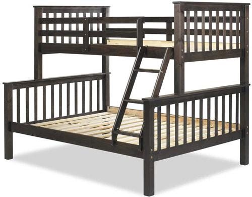 Mission Bunkbed Twin Over Full By Palace Imports