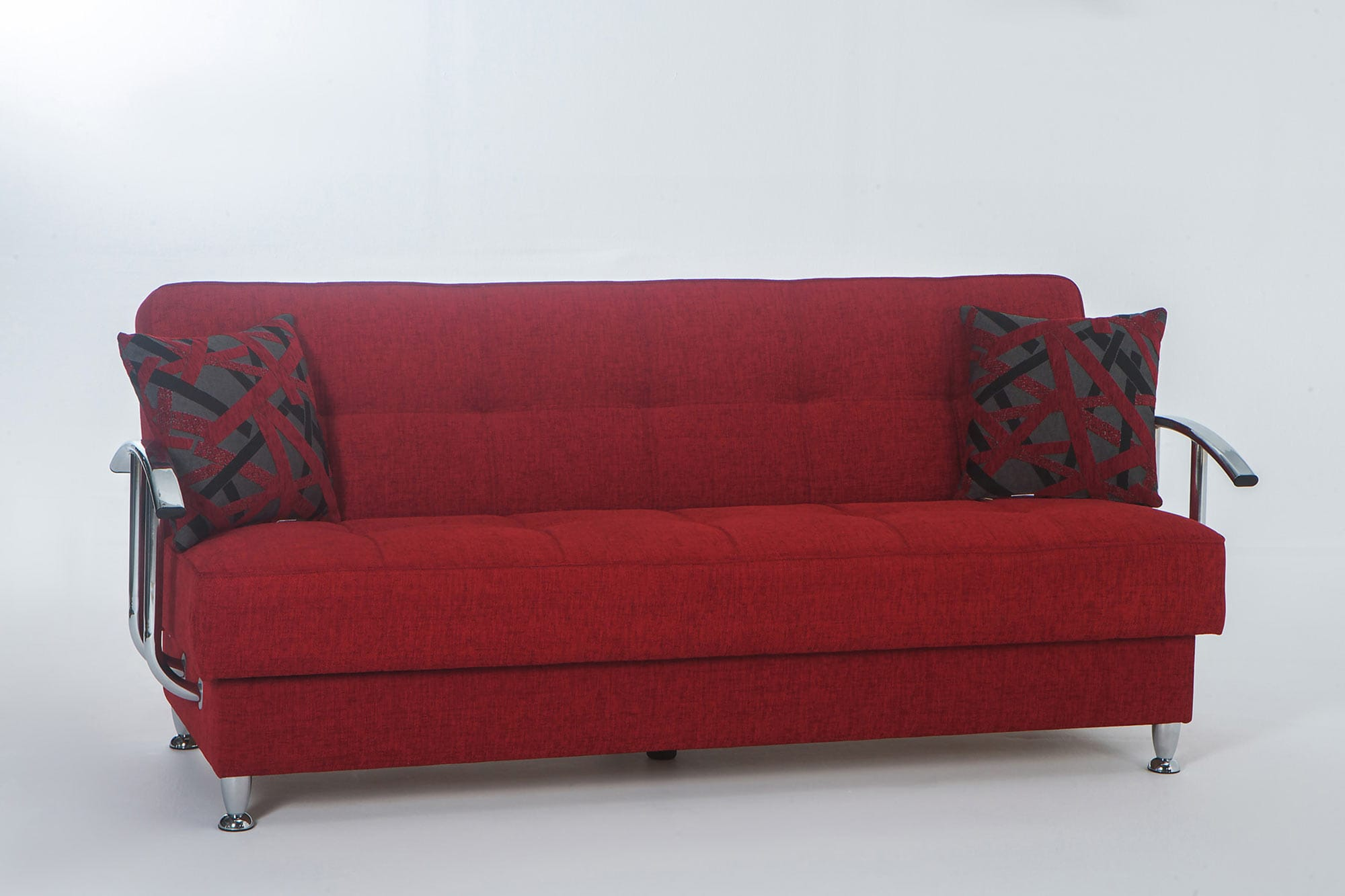Betsy Story Red Convertible Sofa Bed By Istikbal Furniture