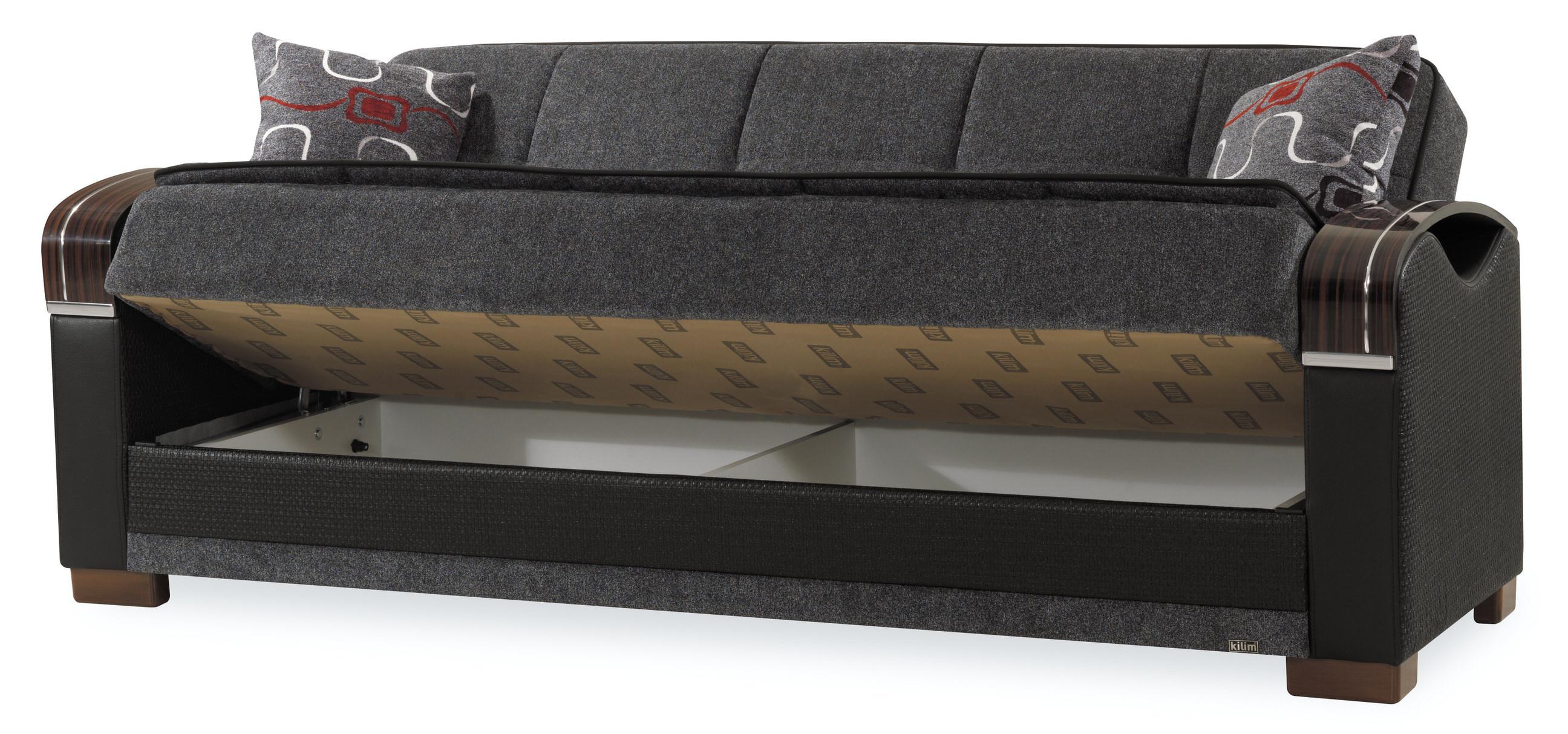 Bristol Gray Convertible Sofa By Casamode