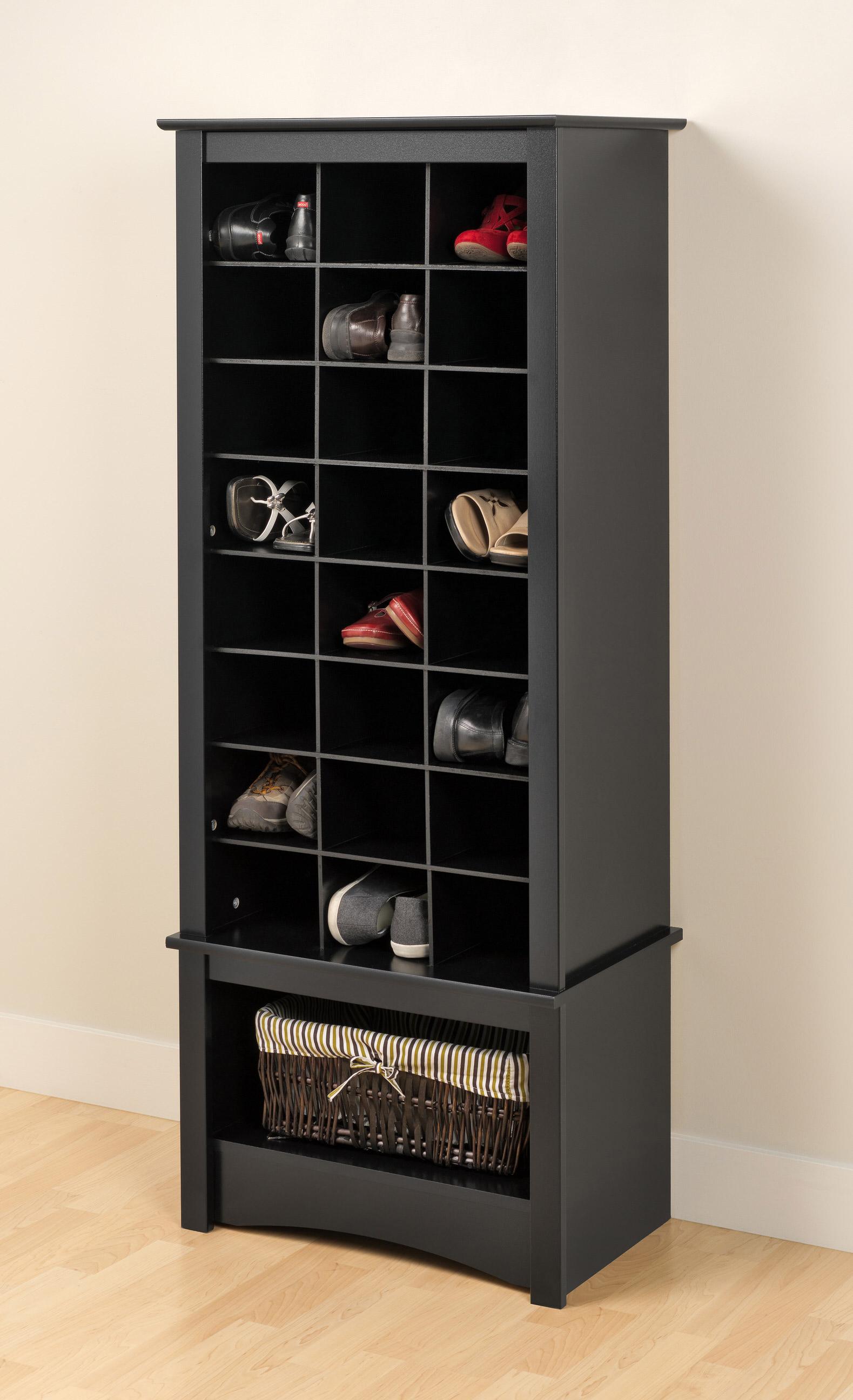 Tall Shoe Cubbie Cabinet By Prepac (Prepac Manufacturing)