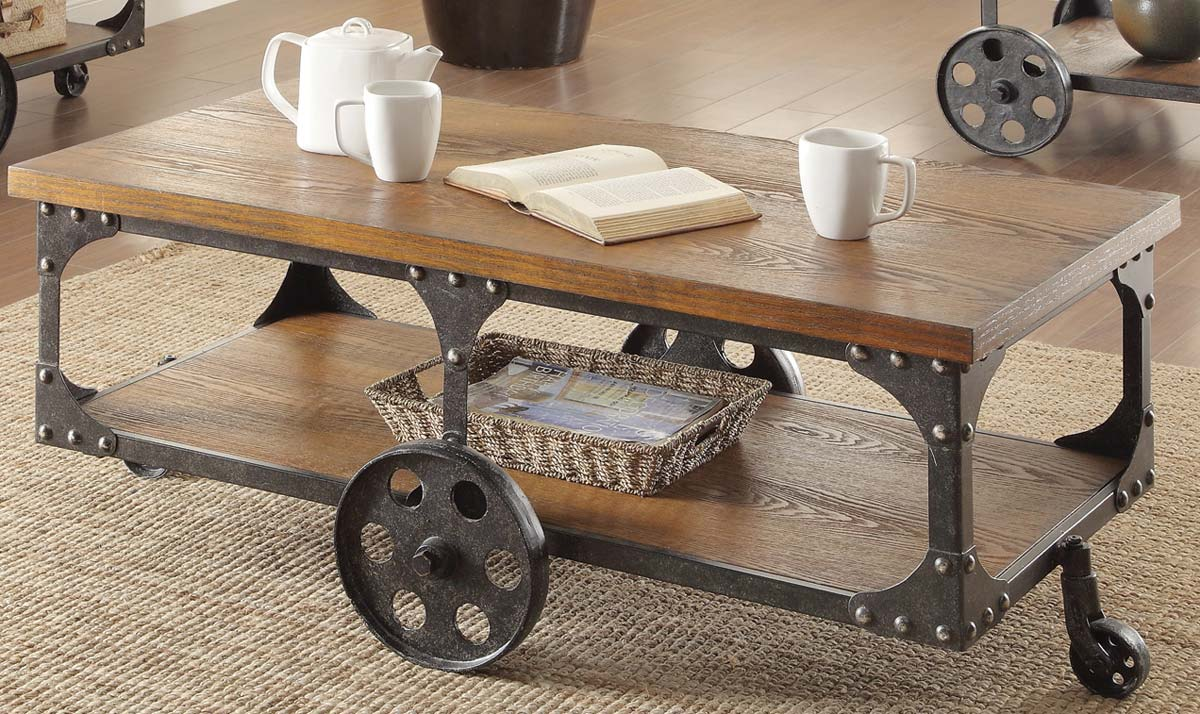 701128 Coffee Table By Coaster Fine Furniture