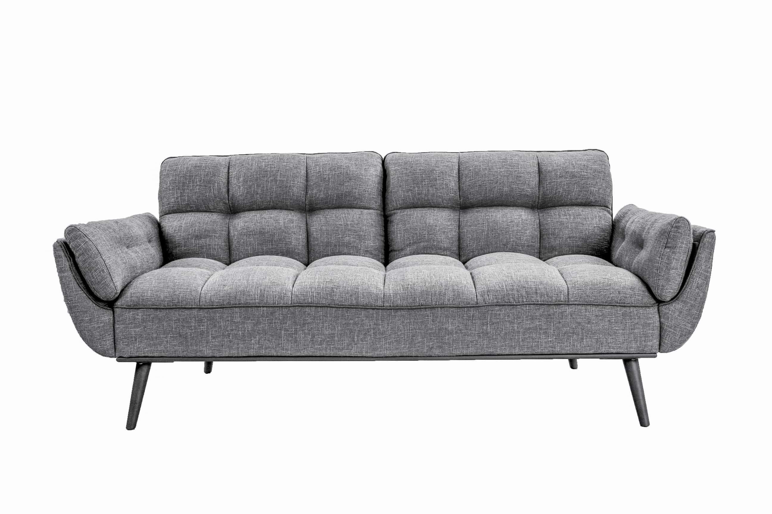 Candice Convertible Sofa Dark Gray by Serta / Lifestyle