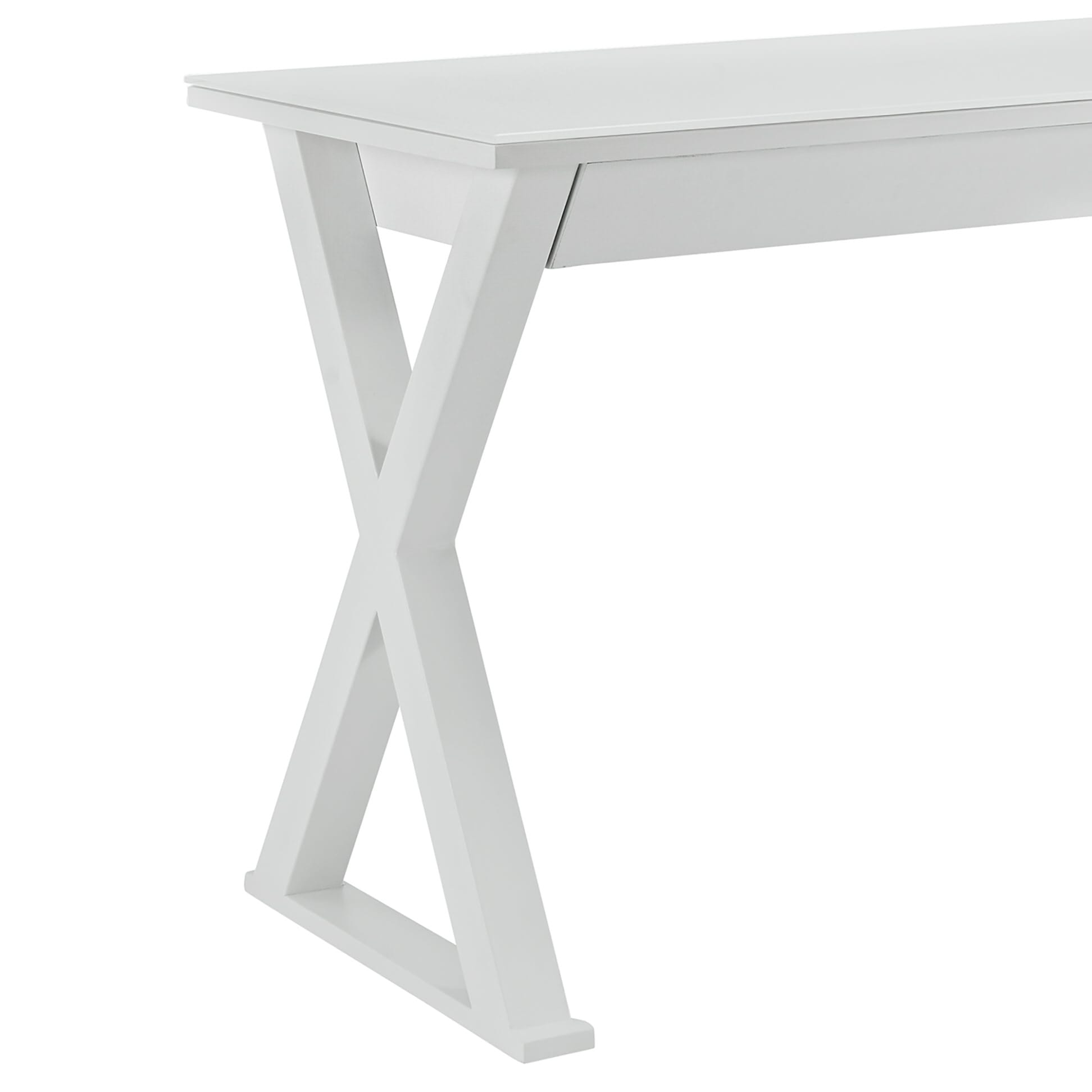 Miraculous Xtra 48 Inch Computer Desk White By Walker Edison Interior Design Ideas Skatsoteloinfo