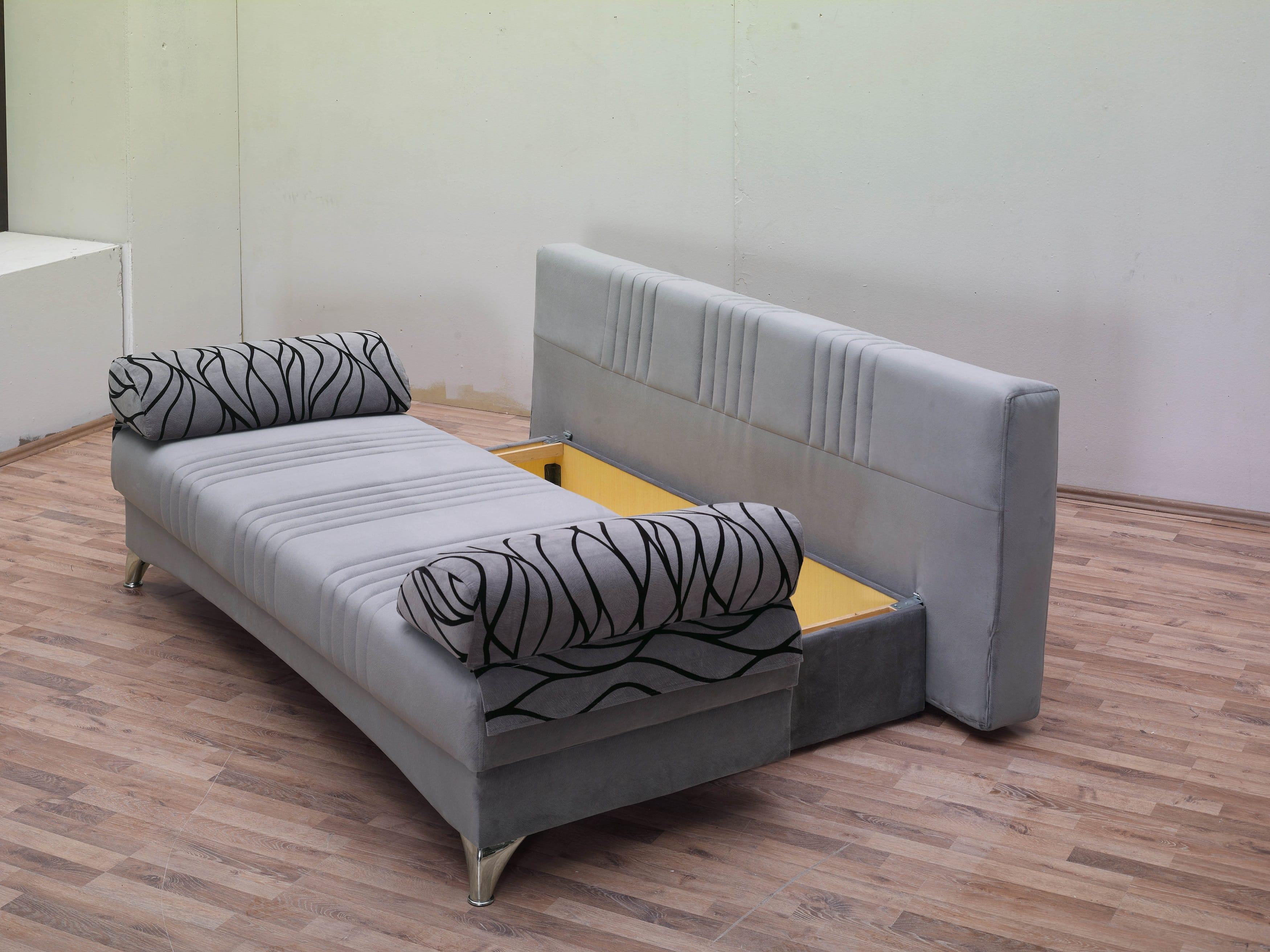 Daisy Gray Sofa Bed by Empire Furniture USA