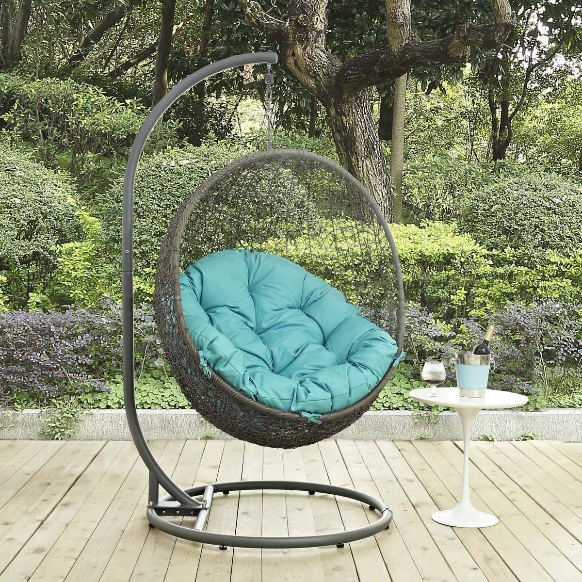 living chair covered tilt lounger bench outsunny beige outdoor patio cushion swing seater with hammock canopy