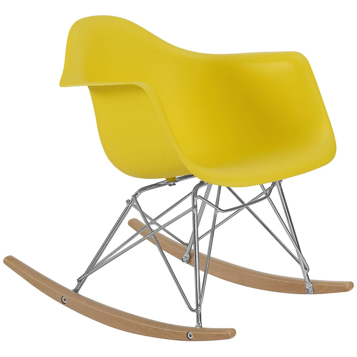 Miraculous Rocker Kids Chair Yellow By Modern Living Machost Co Dining Chair Design Ideas Machostcouk