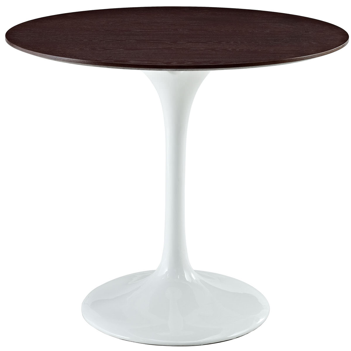 Lippa Inch Round Walnut Dining Table White By Modern Living - 36 inch oval dining table