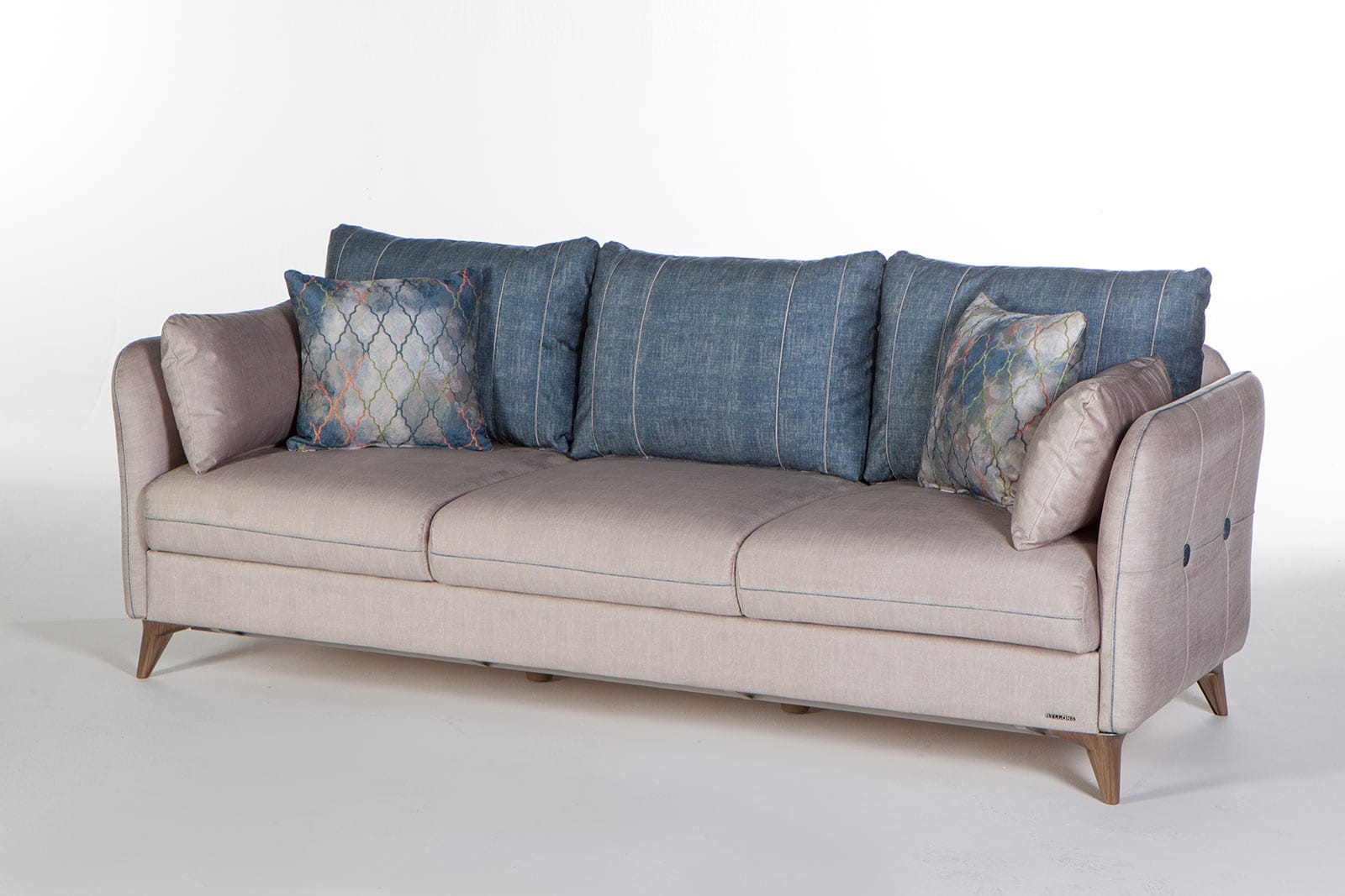 Picture of: Elit Light Gray Convertible Sofa Bed By Istikbal Furniture
