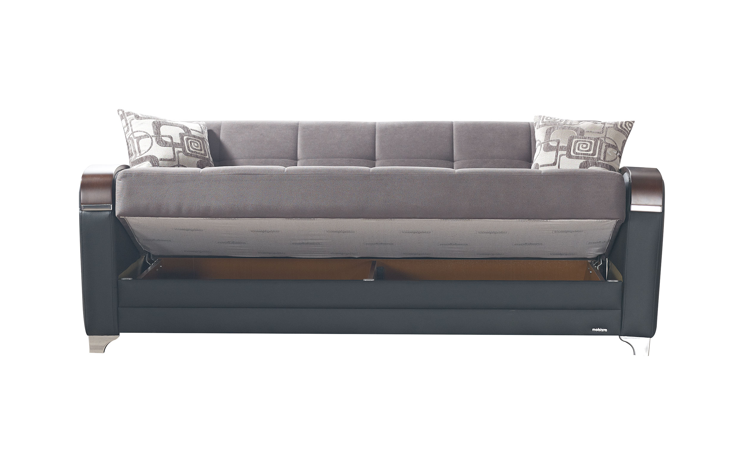 Etro Vintage Gray Fabric Sofa Bed By Mobista (Mobista)
