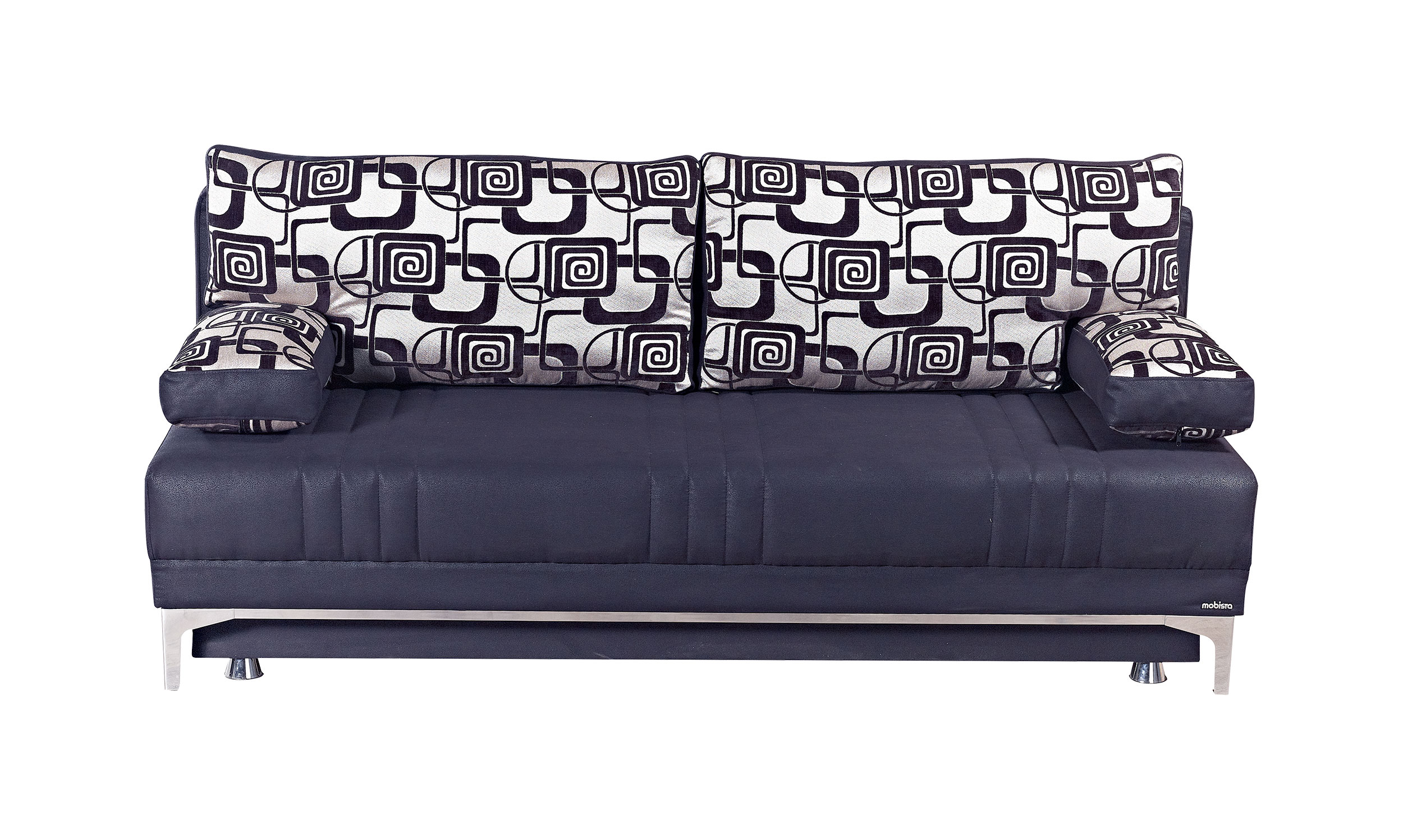 Europa Vintage Black Queen Size Sofa Bed by Mobista : EUR BLK SF from www.functionalfurniturenyc.com size 2500 x 1498 jpeg 565kB