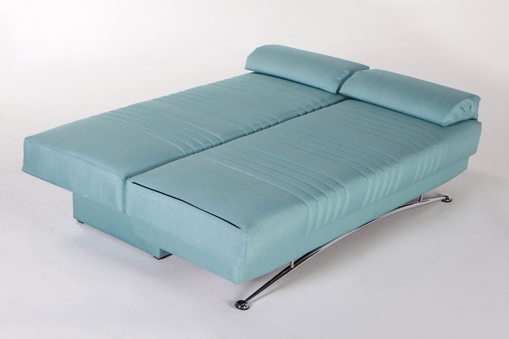 Pleasant Fantasy Coton Seafoam Green Convertible Sofa Bed By Istikbal Cjindustries Chair Design For Home Cjindustriesco