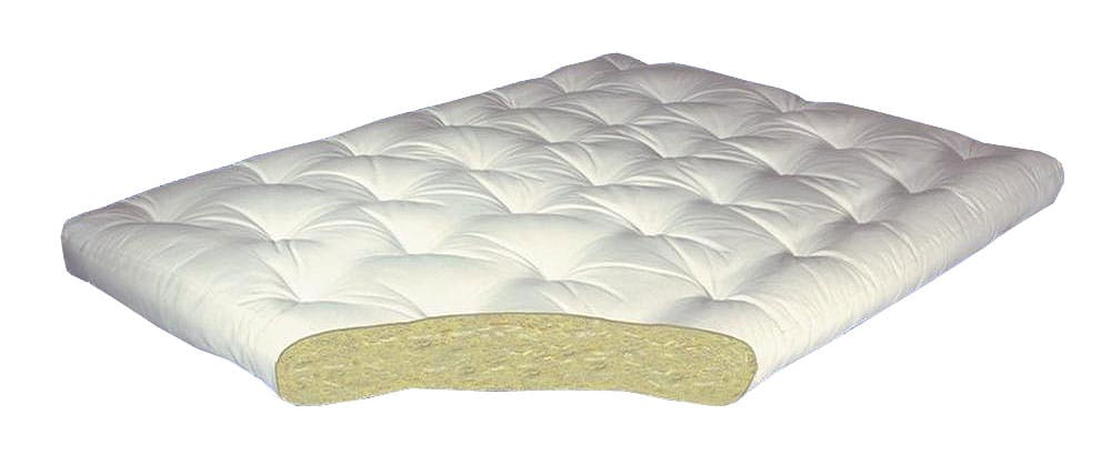 All Cotton 4 Inch Futon Mattress By Gold Bond