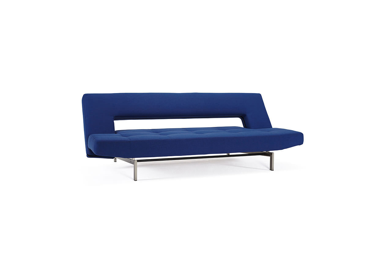 Wing Deluxe Sofa Bed Soft Sapphire Textile By Innovation