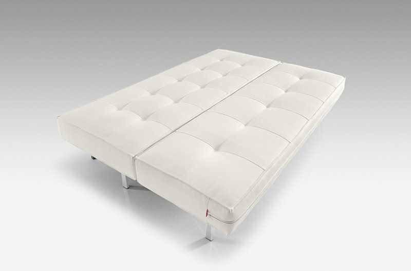 Superb Sly Deluxe Sofa White Leather Textile By Innovation Pdpeps Interior Chair Design Pdpepsorg