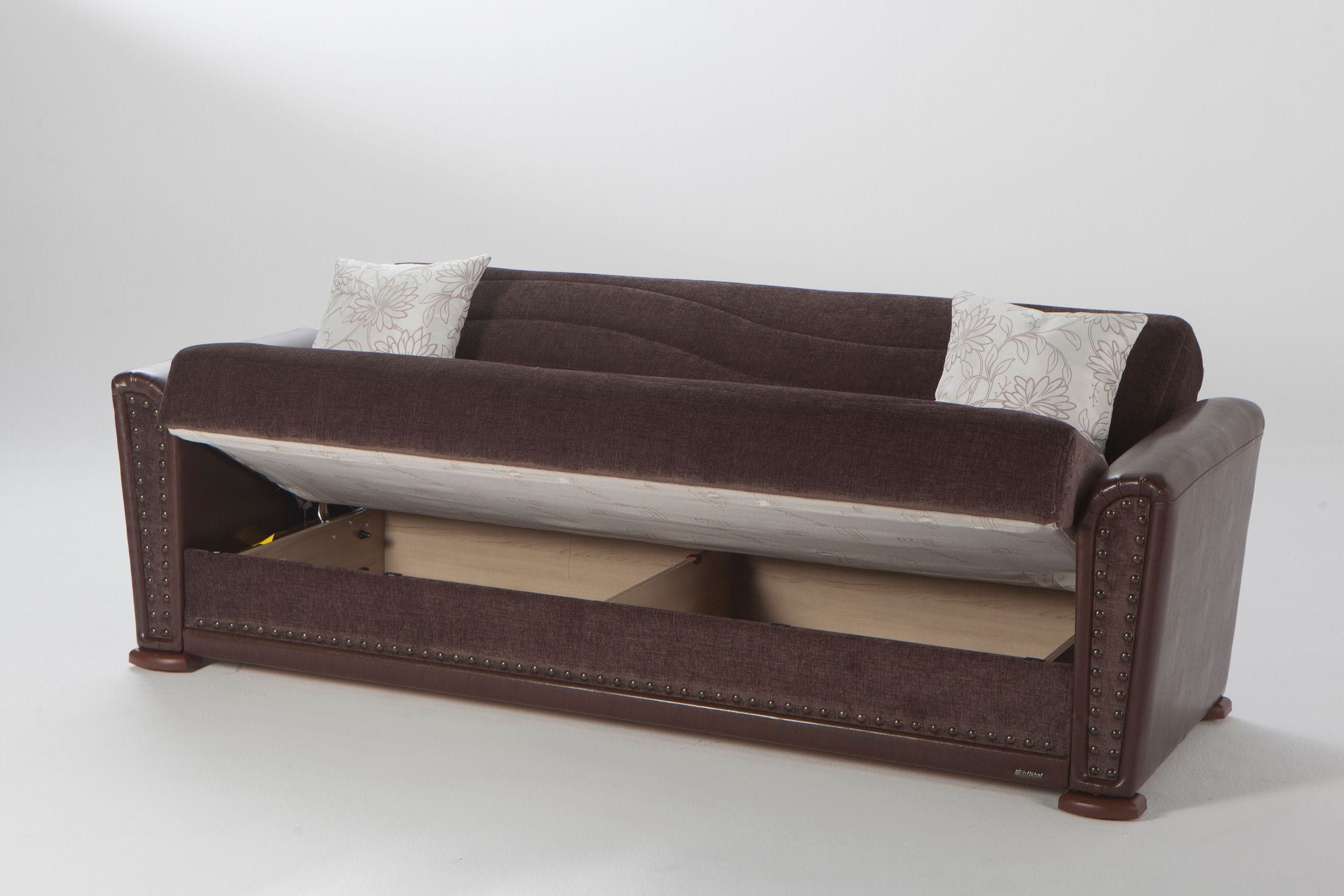 Jennifer Brown Convertible Sofa Bed