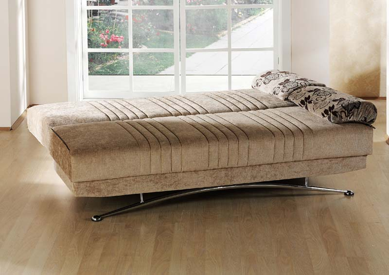 Brown Convertible Sofa Bed By Sunset Sunset International