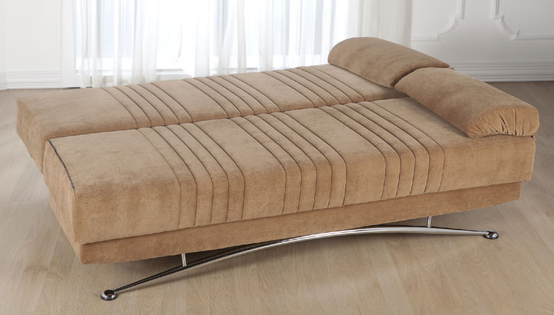 Fantasy Soft Brown Convertible Sofa Bed By Istikbal Furniture
