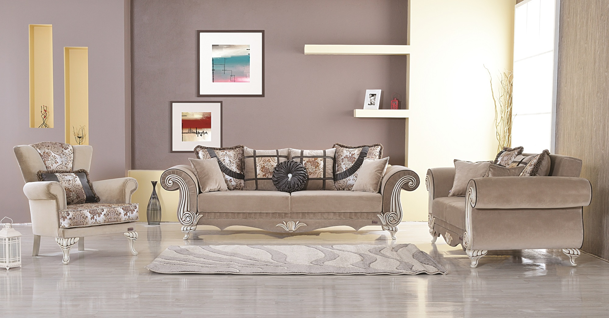 Istanbul Loveseat By Empire Furniture Usa