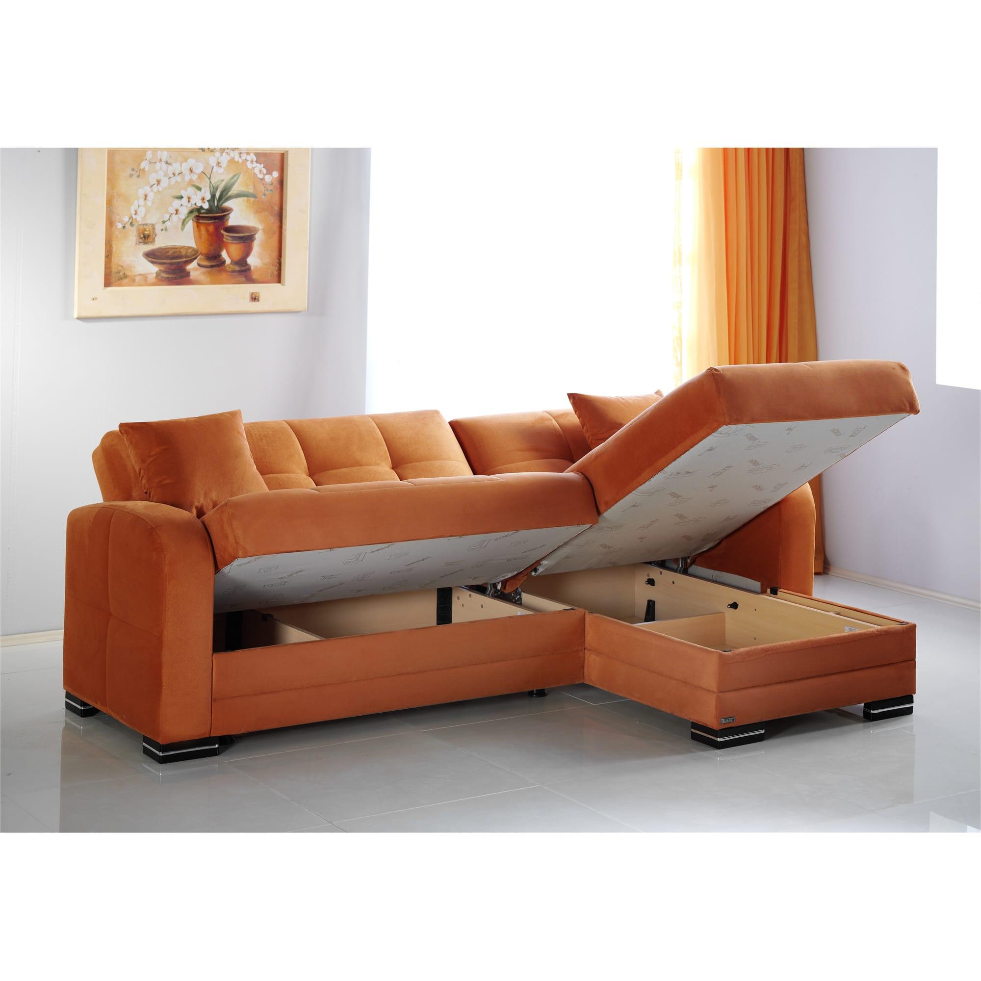 Kubo Rainbow Orange Sectional Sofa By Istikbal Furniture