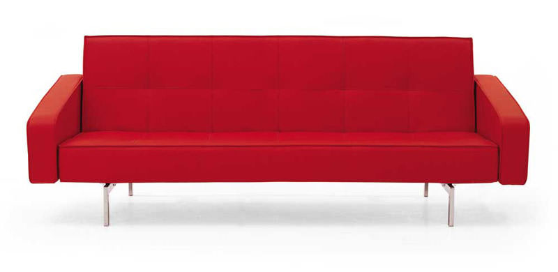 Euro leather textile sofa sleeper lk02 by ido for Sofa 99 euro