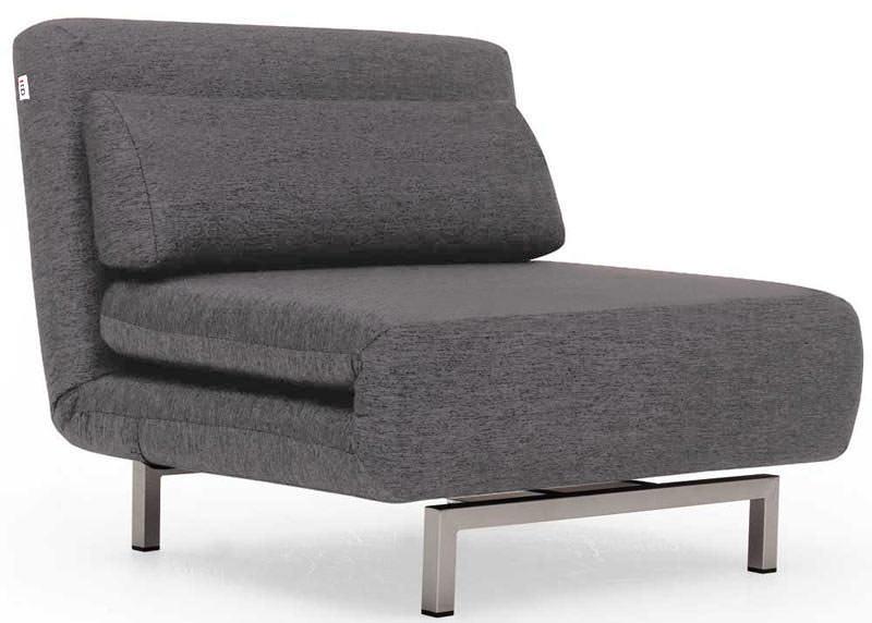 Merveilleux Convertible Charcoal Gray Fabric Chair Bed LK06 By IDO (Ju0026M Furniture)